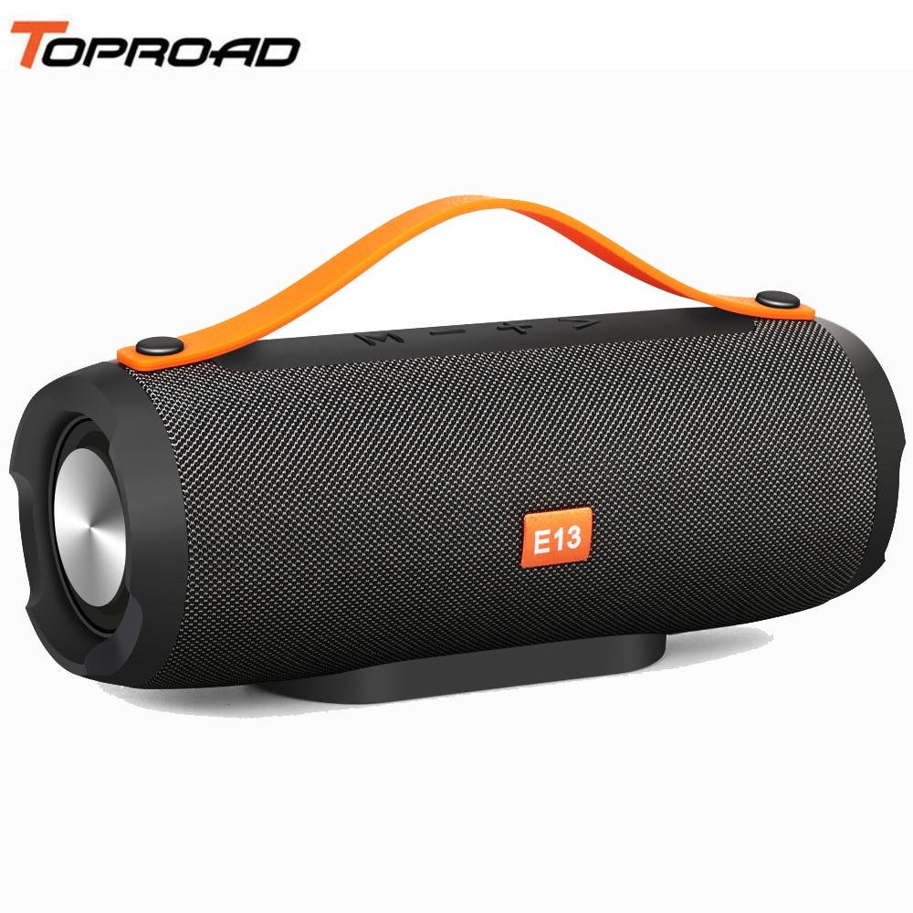 Toproad Wireless Best Bluetooth Speaker Portable Outdoor Column Box Loud Subwoofer Stereo Speaker Support Tf Fm Usb For Phone Pc I Temdeals Department E Stores